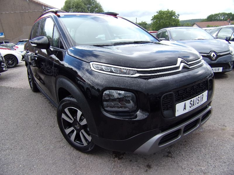 Citroen C3 AIRCROSS 1L6 BLUEHDI 100 CV TURBO DIESEL USB GPS MÉDIA BLUETOOTH BICOLOR   JANTES DIAMS Diesel NOIR ET ORANGE Occasion à vendre