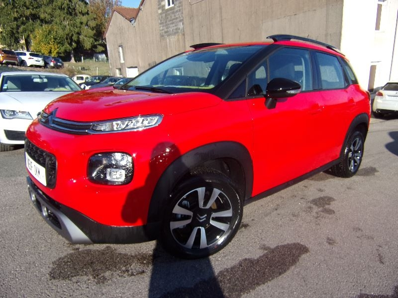 Citroen C3 AIRCROSS FEEL DÉSIGN 1L6 BLUEHDI 120 CV  RADAR TURBO DIESEL  6 VITESSES GPS GRIPP CONTRÔL Diesel ROUGE PASSION Occasion à vendre