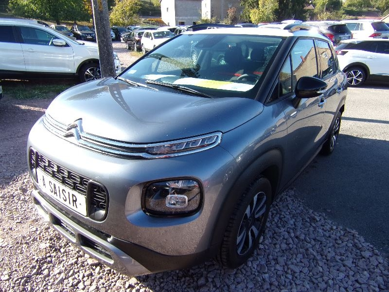 Citroen C3 AIRCROSS SHINE 110 CV ESSENCE PURETECH GPS MP3 RADAR USB BLUETOOTH RÉGULATEUR BOITE AUTO Essence GRIS MISTY/BLANC Occasion à vendre