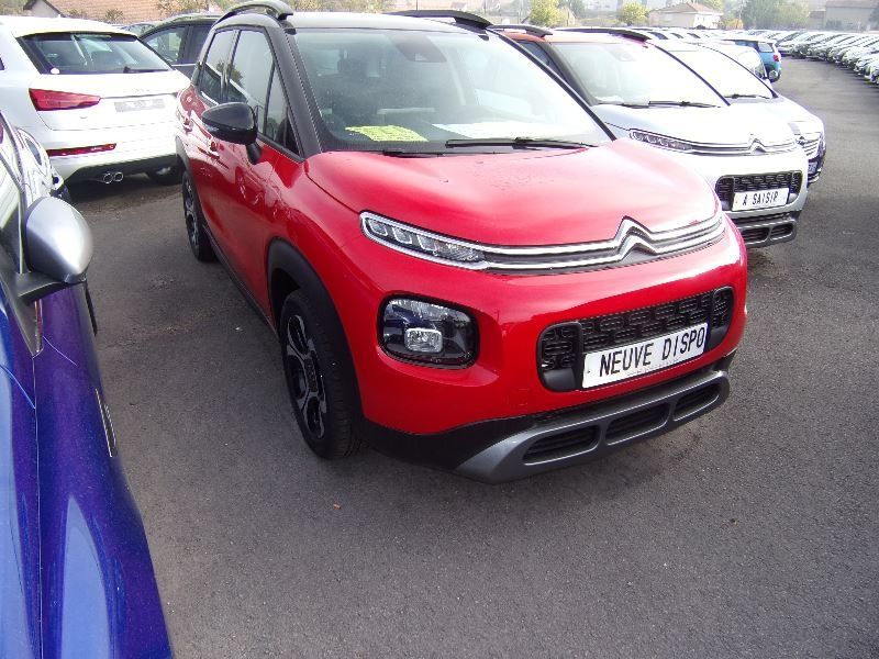 Citroen C3 AIRCROSS 1L6 BLUEHDI SHINE LUXE 100 CV BICOLOR GPS ACTIVE CITY BREAK CAMÉRA GRIPP CONTROL Diesel ROUGE TOIT NOIR Occasion à vendre