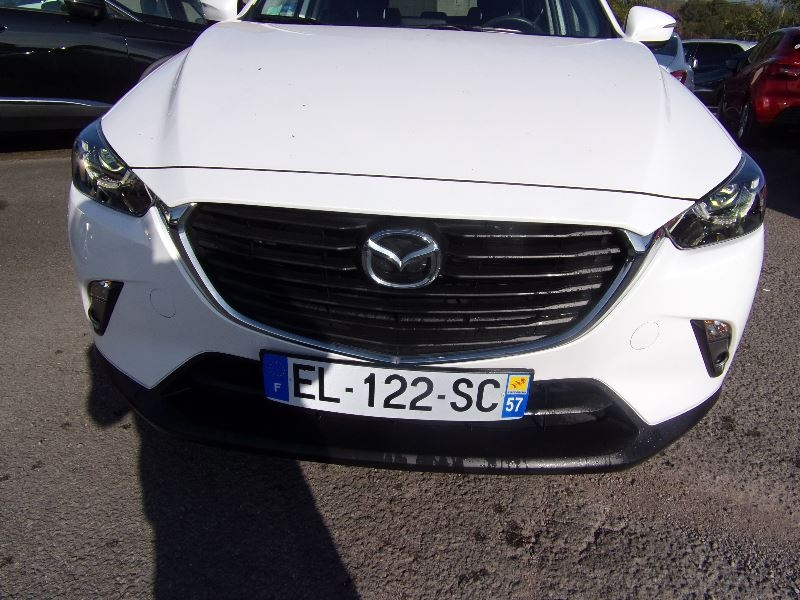 Mazda CX-3 SKYACTIVE DYNAMIQUE CDTI 105 CV GPS FULL LEDS RADAR MP3 JA BLUETOOTH RÉGULATE Diesel BLANC NACRÉ Occasion à vendre