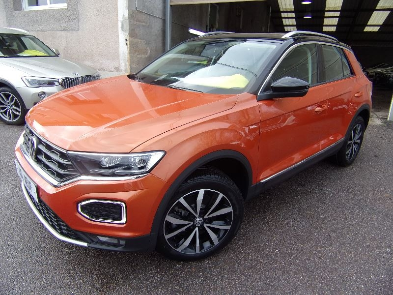 Volkswagen T-ROC 4X4 SPORT 2L TDI 150 ÉCRAN MULTI MÉDIA