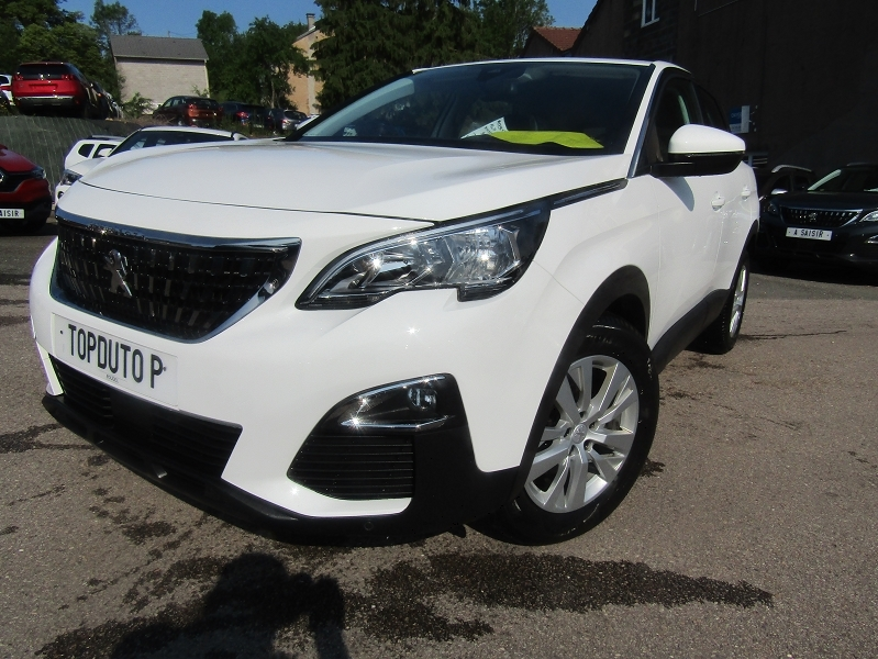 Peugeot 3008 III 1L5 BLUEHDI 130 CV ACTIVE BUSINESS CAMÉRA GPS COULEUR CITY BREAK TURBO DIESEL 6V Diesel BLANC CRISTAL Occasion à vendre