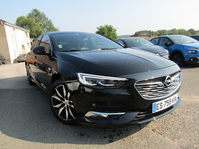 Opel INSIGNIA GRAND SPORT 2.0 D 170CH ELITE AT8 EURO6DT Diesel NOIR INTENS Occasion à vendre