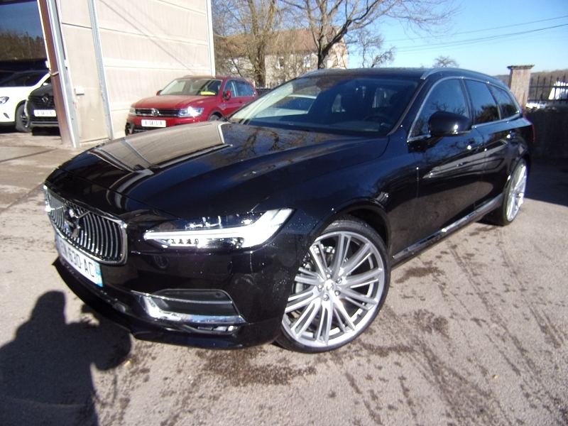 Volvo V90 D4 190CH INSCRIPTION GEARTRONIC Diesel NOIR DIAMANTÉ Occasion à vendre