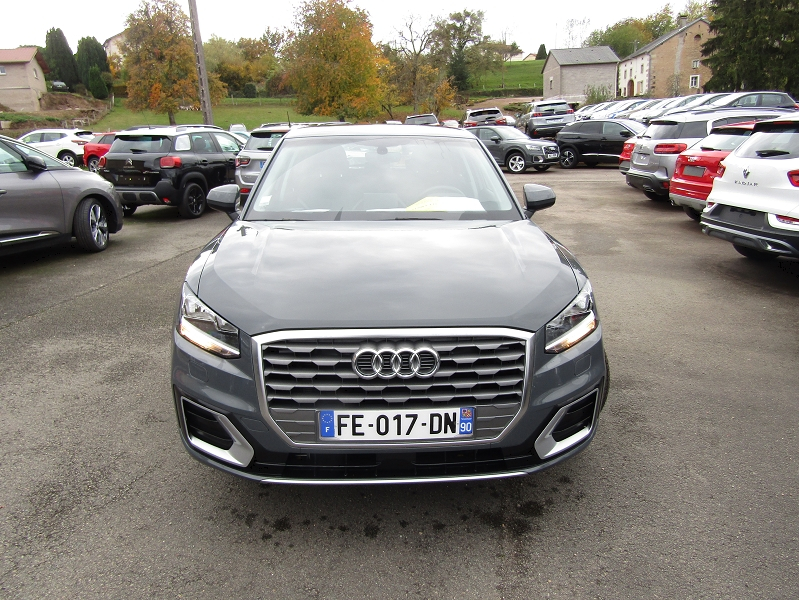 Audi Q2 30 TFSI 116 CV ESSENCE SPORT GPS AUDIO MP3 USB JA 17 RADAR BLUETOOTH RÉGULATEUR Essence GRIS NANO MÉTAL Occasion à vendre